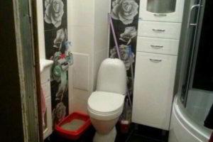 ванная с туалетом 3 кв. м фото 10