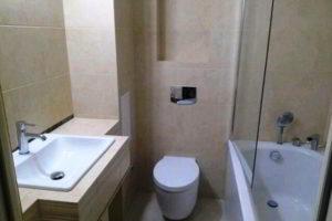 ванная с туалетом 3 кв. м фото 11