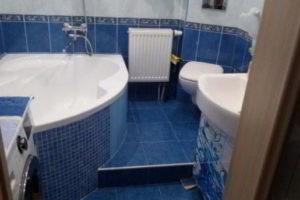 ванная с туалетом 3 кв. м фото 14