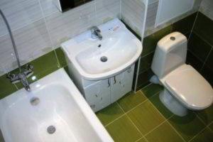 ванная с туалетом 3 кв. м фото 37