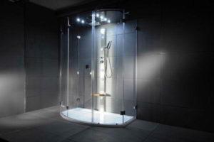душевая кабина в ванной фото 12
