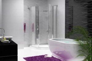 душевая кабина в ванной фото 23