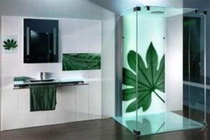 душевая кабина в ванной фото 24