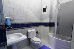 душевая кабина в ванной фото 27