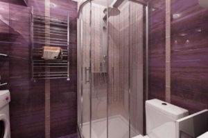 душевая кабина в ванной фото 31