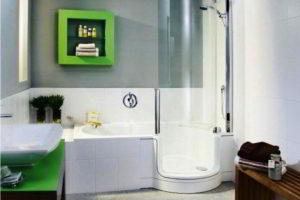 душевая кабина в ванной фото 34