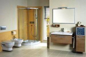 душевая кабина в ванной фото 39