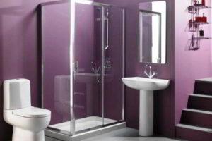 душевая кабина в ванной фото 41