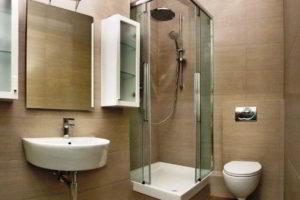 душевая кабина в ванной фото 44