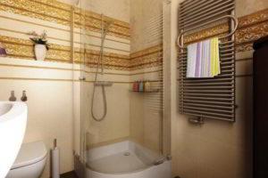 душевая кабина в ванной фото 48