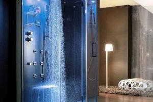 душевая кабина в ванной фото 55