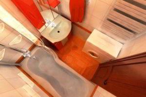 дизайн ванной в хрущевке фото 15