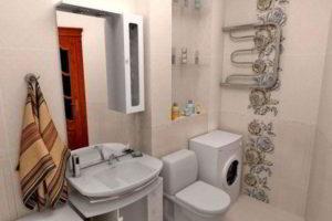 дизайн ванной в хрущевке фото 21