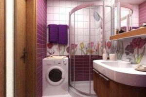 дизайн ванной в хрущевке фото 27