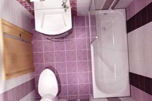 дизайн ванной в хрущевке фото 3