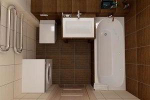 дизайн ванной в хрущевке фото 31