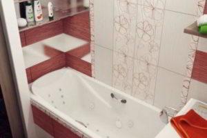 дизайн ванной в хрущевке фото 47