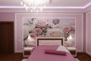 фотообои в интерьере спальни фото 18