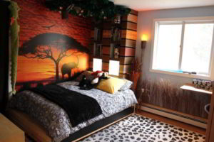 фотообои в интерьере спальни фото 26