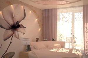 фотообои в интерьере спальни фото 29