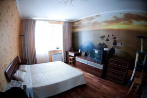фотообои в интерьере спальни фото 39