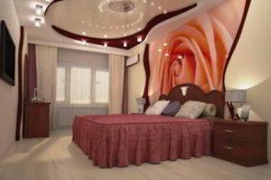 фотообои в интерьере спальни фото 7