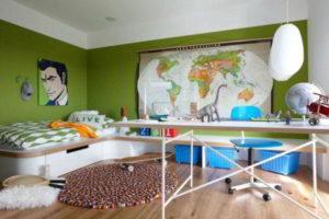 интерьер комнаты для мальчика фото 7