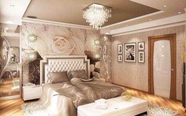 спальня с фотообоями фото 5