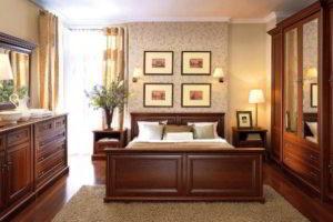 комбинированные обои для спальни фото 17