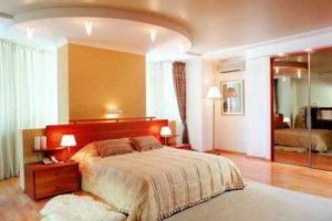 комбинированные обои для спальни фото 44