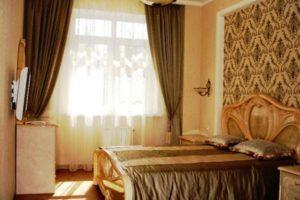 комбинированные обои для спальни фото 5