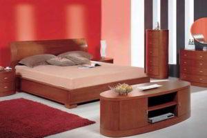 комбинированные обои для спальни фото 7