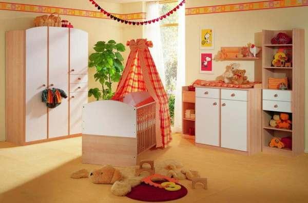 комната для новорожденного фото 8