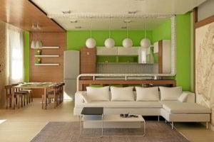 кухня и гостиная вместе фото 19