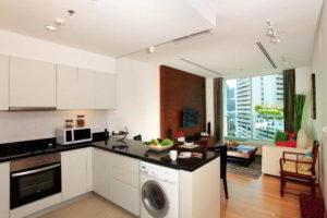 кухня и гостиная вместе фото 29
