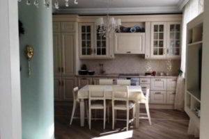 кухня и гостиная вместе фото 3
