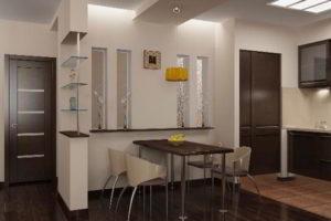 кухня и гостиная вместе фото 37