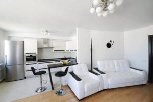 кухня и гостиная вместе фото 7