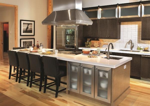 кухня с островом фото 6