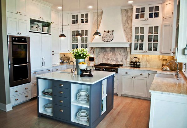 кухня с островом фото 8