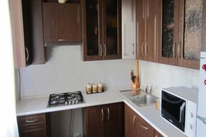 кухня в хрущевке дизайн фото 15