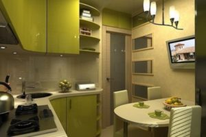 кухня в хрущевке дизайн фото 18