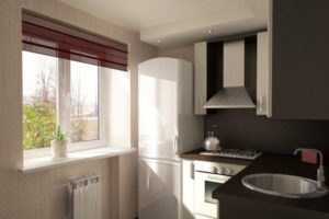 кухня в хрущевке дизайн фото 19