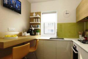 кухня в хрущевке дизайн фото 23
