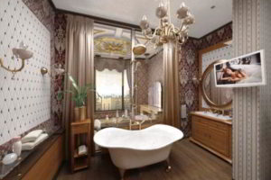 люстра в ванной фото 28