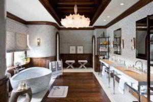 люстра в ванной фото 30