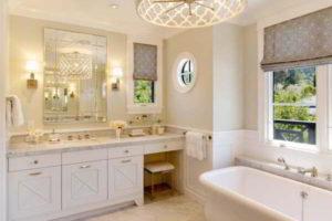 люстра в ванной фото 32
