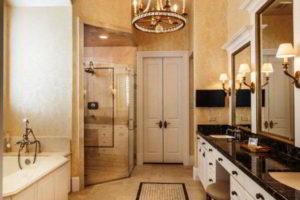 люстра в ванной фото 44