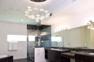 люстра в ванной фото 51