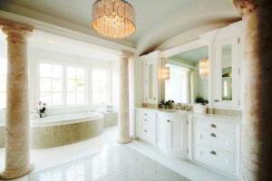 люстра в ванной фото 60